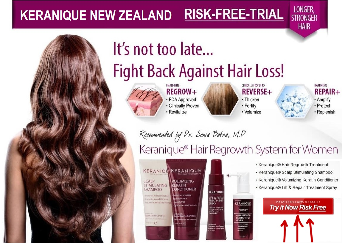 Keranique Risk Free Trial for New Zealand